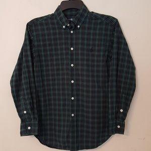 Ralph Lauren Boy's Plaid L/S Shirt M 10-12